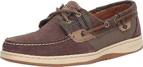 SPERRY Women's Bluefish Dark Brown/Wool Loafer