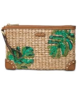 Michael Kors Woven Handbag - 3