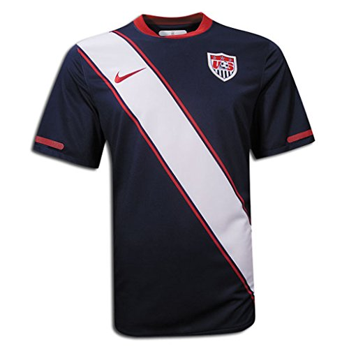 NIKE USA WORLD CUP PLAYER ISSUE JERSEY (NAVY) (L) ()