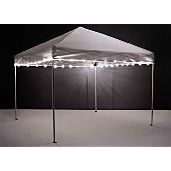 Brightz, Ltd. Canopy Brightz LED Tailgate Canopy and Patio Umbrella Accessory Lighting Kit (Lights Only), White