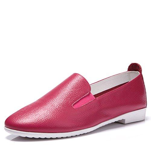 zapatos de moda otoño/Coreano principal fondo plano/Zapatos de mujer casual/Mocasín A