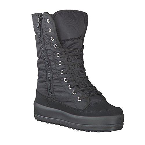 Vista 11-30315 Damen Stiefel Schuhe schwarz Schnürung Protex