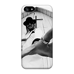 Iphone 5/5s TnK19237sEGU Unique Design Beautiful Kid Rock Band Pattern High Quality Hard Cell-phone Case -CharlesPoirier