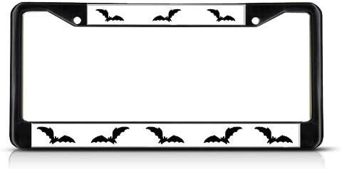 License Plate Frame Bat Bats Batman Animal Car Accessories Stainless Steel