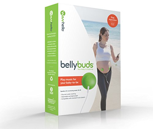 BellyBuds Baby Bump Headphones Bellyphones WavHello product image