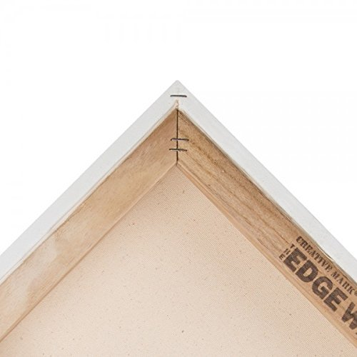 The Edge All Media Cotton Canvas 1-1/2'' Box of Three 24x48''