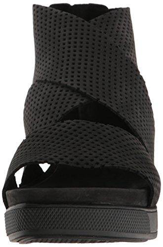 Eileen Fisher Women's Sport2-Nu Flat Sandal Black Gw8ITnzP