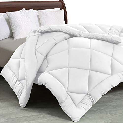 Utopia Bedding - All Season Quilted Duvet Insert - Goose Down Alternative Comforter - Twin/Twin XL - White (Duvet Bed Twin)