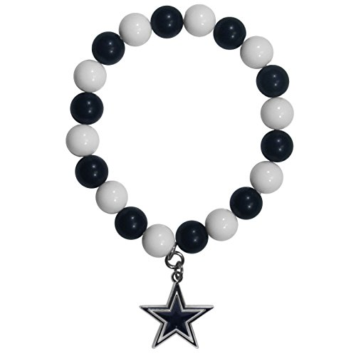 Siskiyou NFL Dallas Cowboys Fan Bead Bracelet