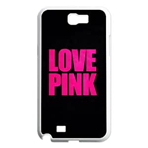 UNI-BEE PHONE CASE For Samsung Galaxy Note 2 Case -Love Pink-CASE-STYLE 18