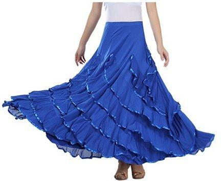 FaithYoo - Falda - relaxed - para mujer 2562#Dark blue