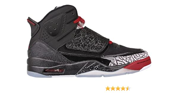 timeless design 28b5a 262b2 Amazon.com   Jordan Nike Air Son Of Mars Mens Basketball Shoes 512245-001  Black 12 M US   Fashion Sneakers