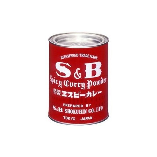 S & amp; B commercial curry powder 400g