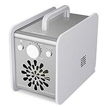 HERAVAC OG-75 Ozone Generator Machine 7,000mg/h Industrial O3 Advanced Ionizer Air Purifier, Smoke Eater, Room Deodorizer and Odor Neutralizer