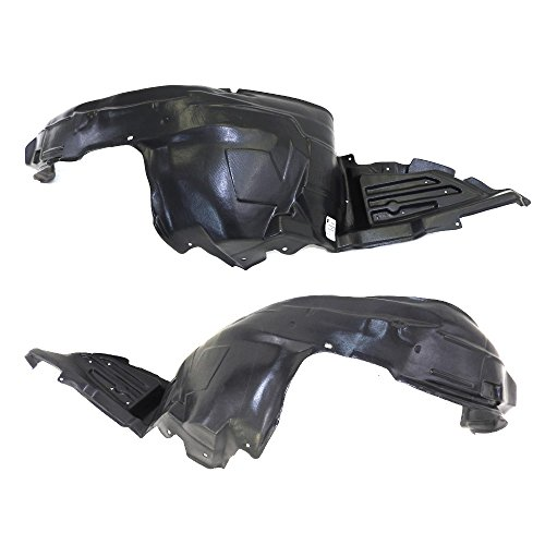 Titanium Plus 2005-2009 Subaru Legacy Front,Left,Right FENDER LINER Pair (Front Legacy Subaru Fender)