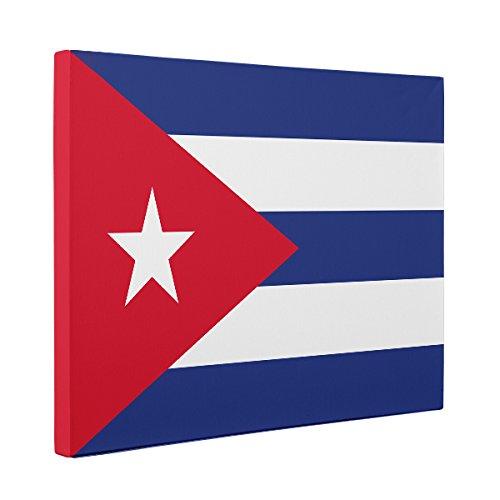 Cuba Flag CANVAS Wall Art Home Décor