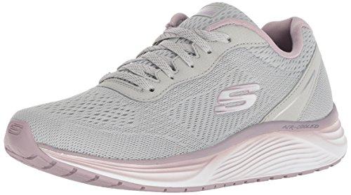 Skyline 13045 grau Thru Damen Lavender Sneaker GRY Skechers Grey Silber Dashin UqxCw7ZRSR