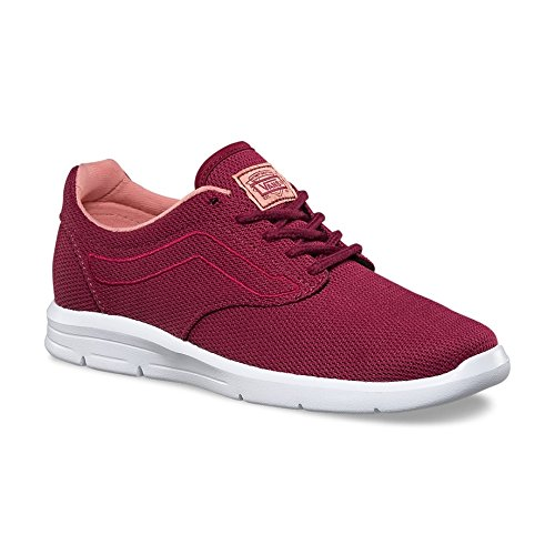 Mesh 5 1 Women's ISO Beet White Shoe Red Skateboarding Vans xwR7ZCYnqt