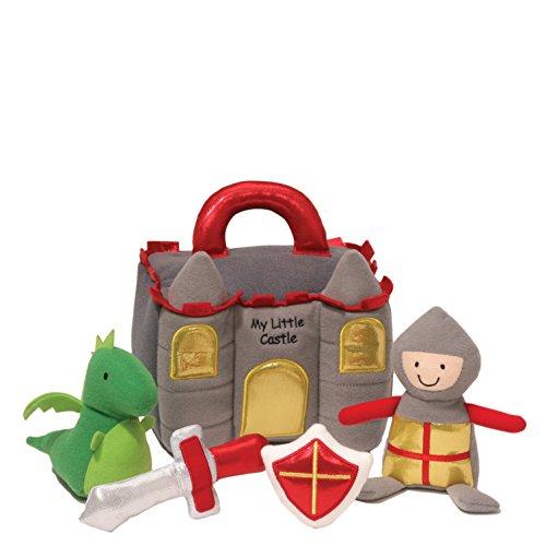 Baby GUND My Little Castle Stuffed Plush Playset, (Dragon Rattle)