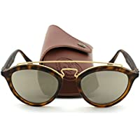 Ray-Ban Gatsby II RB4257 60925A Women's Sunglasses (Matte Havana Frame/Brown Gold Mirror Lens)