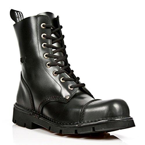 NEWROCK New Rock Boots Style M.NEWMILI083 S1 Black B01BH1WTTK Unisex Steel Toe B01BH1WTTK Black Shoes eb09bb