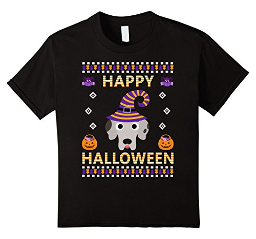 Kids Ugly halloween gifts Great dane dog lover t shirt 6 Black