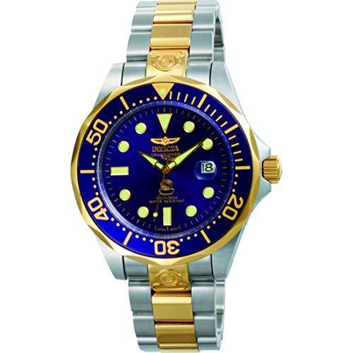 Invicta 3049 Pro Diver Reloj para Hombre acero inoxidable Automático Esfera azul: Invicta: Amazon.es: Relojes