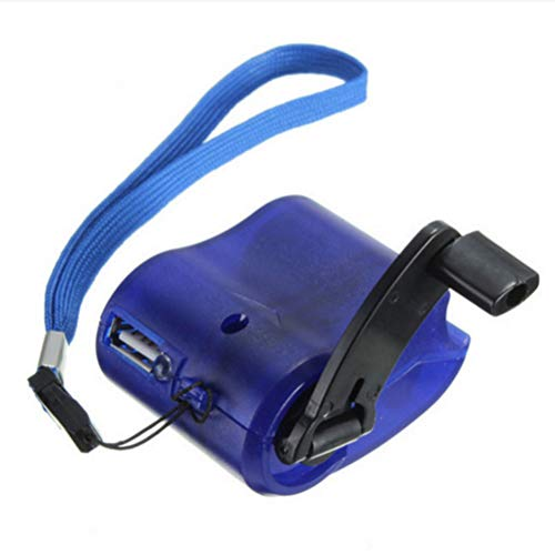Aamoa Hand Charger Outdoor Portable Emergency Charger Dynamo Hand Crank USB Charging Charger - Dynamo Crank Hand