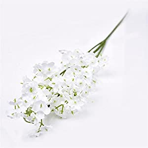 FYYDNZA 1Pc White Artificial Flowers Artificial Babysbreath Simulation Flowers Wedding Party Decoration Home Decoration 103
