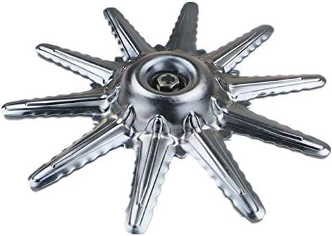 JAYLONG Hojas De Metal Protector Protector 2 Piezas para Desbrozadora De Césped Segadora De Madera Snipper