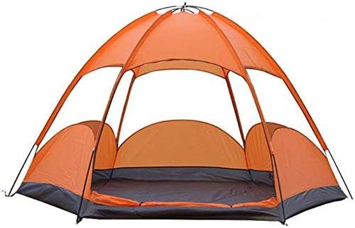 Qinmo Camping Zelt Zelt 3-5 Person, bewegliche Tragetasche Zelt automatisches Zelt wasserdicht Winddicht for Camping Wandern Bergsteigen