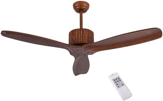 Ventilador techo Con Mando A Distancia Ajuste De Tres Velocidades ...