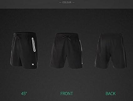 Hommes Shorts de Sport Shorts Actifs Tennis Athl/étisme Sports de Plein air int/érieurs Shorts de Fitness et Musculation Shorts