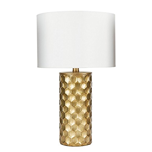 Silverwood CPLT1367-COM The Hive Gilded Table Lamp with Shade, 21