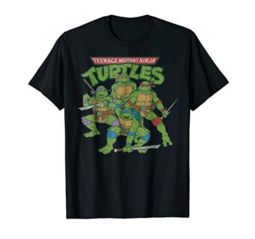 Teenage Mutant Ninja Turtles Character Group T-Shirt ()
