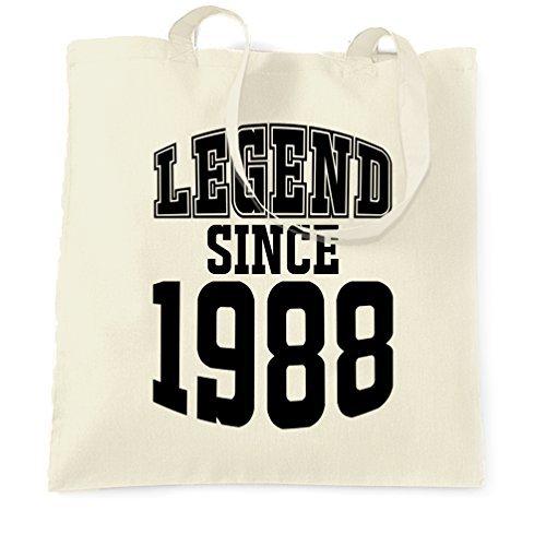 大人気 トートバッグショッピングバッグギフト30th Birthday凡例since Birthday凡例since 1988ギフトMade in 30年古い誕生年生まれA Epic Legacy Legacy Celebrationクール印刷ショッピングハンドバッグギフトレディース Epic B07BF74QCS, 留萌郡:ae5a1353 --- arianechie.dominiotemporario.com