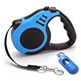 Automatic Retractable Leash - 16ft Retractable Dog Leash for Small Medium Dogs Durable Nylon Dog Lead Extending Puppy Walking Leads Leashes Pet Product