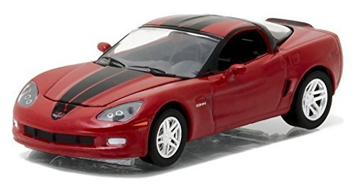 - 2012 Chevrolet Corvette Z06 Crystal Red General Motors Collection Series 1 1/64 by Greenlight 27870 A