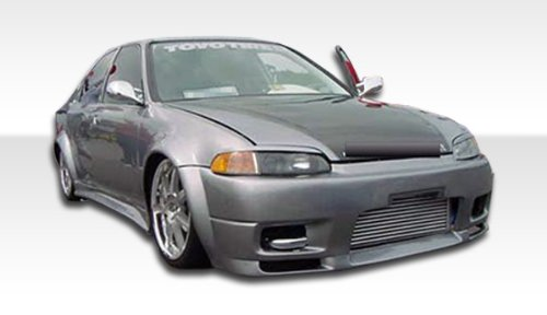 2dr Body R33 - 1992-1995 Honda Civic 2DR Duraflex R33 Body Kit - 4 Piece - Includes R33 Front Bumper Cover (101145) Spyder Rear Bumper Cover (101120) Spyder Side Skirts Rocker Panels (101100)