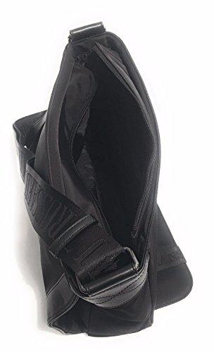 Trussardi Jeans herr topphandtag väska svart svart