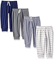 Amazon Essentials Baby 4-Pack Pull-on Pant