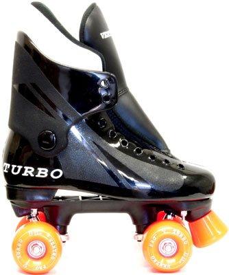 Ventronic VT01 Turbo Ventro Pro Quad Rollschuhe mit farbigen Räder Einfarbig Orange EU33