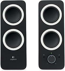 Logitech Z200 Speakers, Black [980-000812]