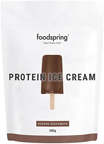 Añadiendo al carrito...Añadido a la cestaNo añadidoNo añadidofoodspring Helado Proteico, Chocolate, 240g, Tu polo de batido de proteínas