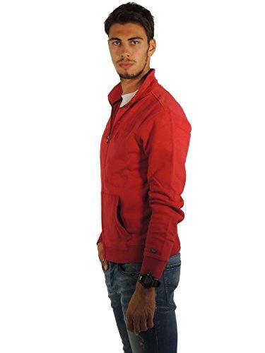 Uomo Logo m rosso Br80 Wofel1057 Woolrich Felpa Track Xq0pTw4d