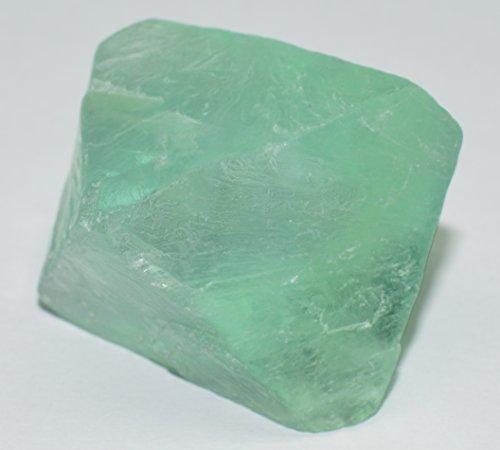 Octagon Jewels (Fluorite rough gemstone crystal Octagon 71.49 carat)