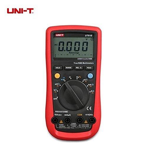 UNI-T UT61E Auto Range Digital Multimeter AC/DC Volt Amp Resistance Capacitance Frequency Duty Cycle ()
