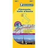 Piemonte & VA - Michelin Local Map 351 (Michelin Local Maps)