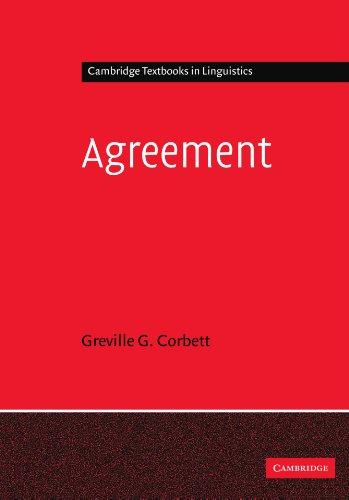 Agreement (Cambridge Textbooks in Linguistics)