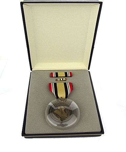 Iraq Campaign Full Size Medal Set with Presentation Case